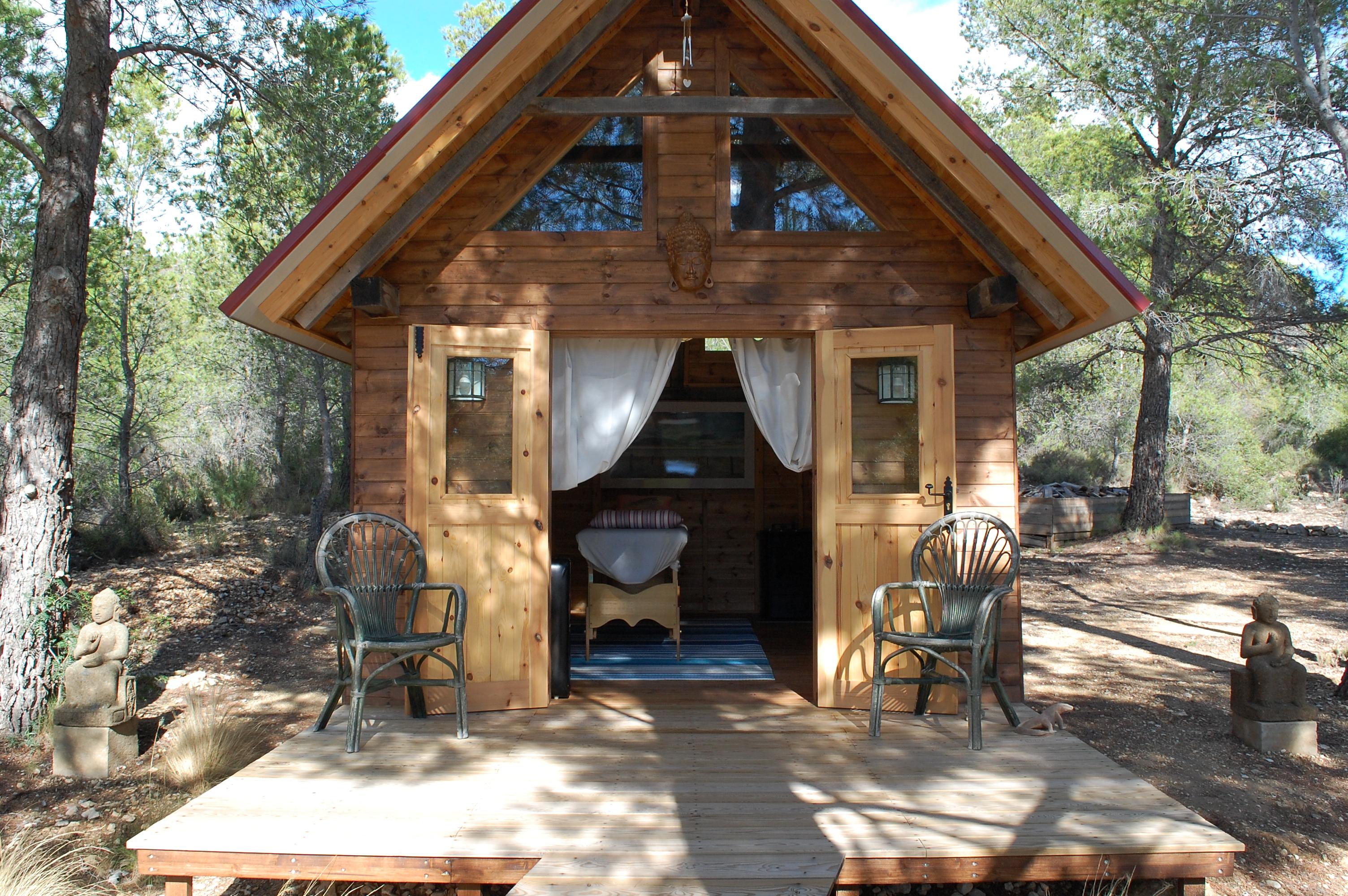 Cabaña de masajes